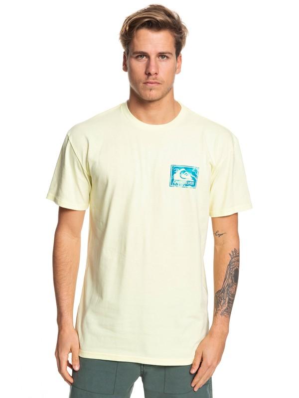 0 Camiseta - Architexture Amarillo AQYZT06051 Quiksilver
