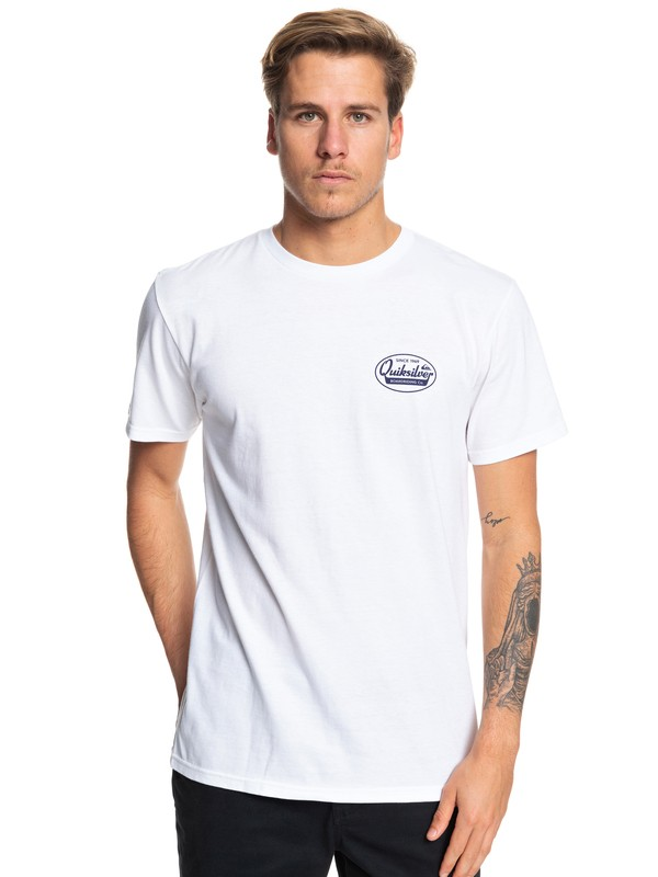 0 What We Do Best Tee White AQYZT06052 Quiksilver