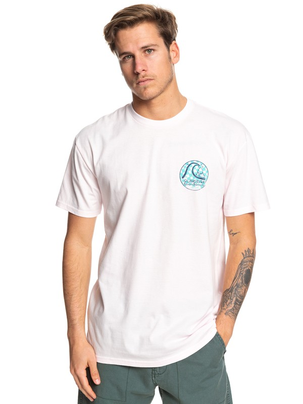 0 Without Parallel Tee Pink AQYZT06054 Quiksilver
