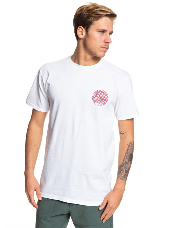 0 Camiseta - Without Parallel Blanco AQYZT06054 Quiksilver