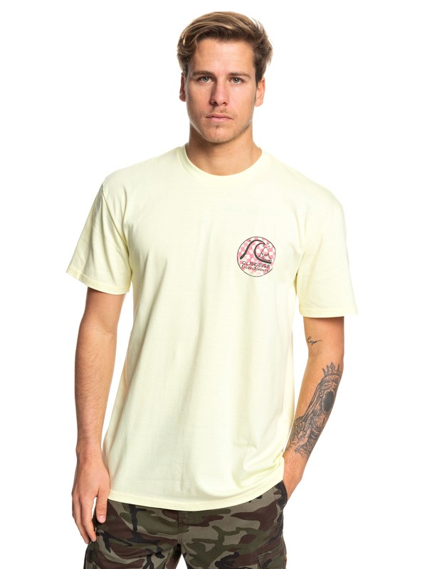 0 Camiseta - Without Parallel Amarillo AQYZT06054 Quiksilver