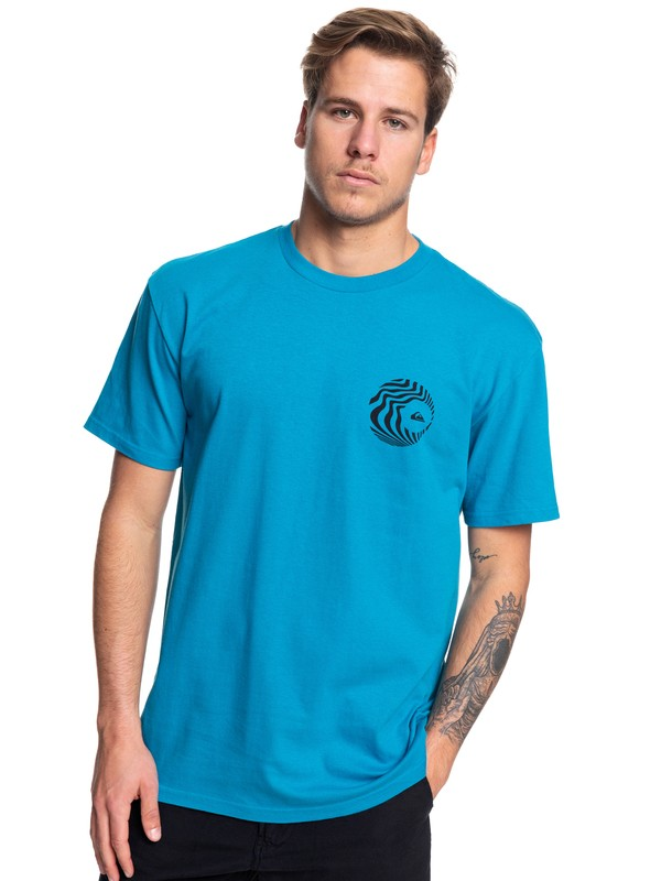 0 Obscure Groove Tee Blue AQYZT06056 Quiksilver