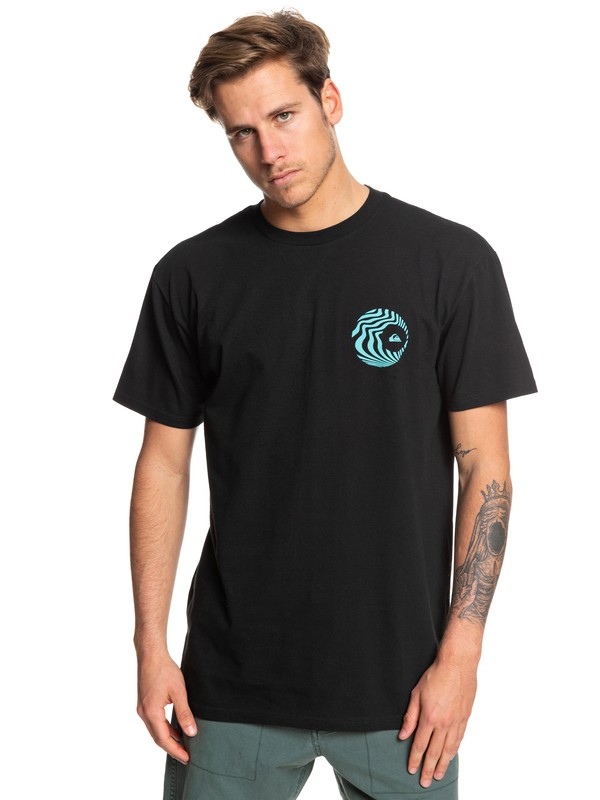 0 Obscure Groove Tee Black AQYZT06056 Quiksilver