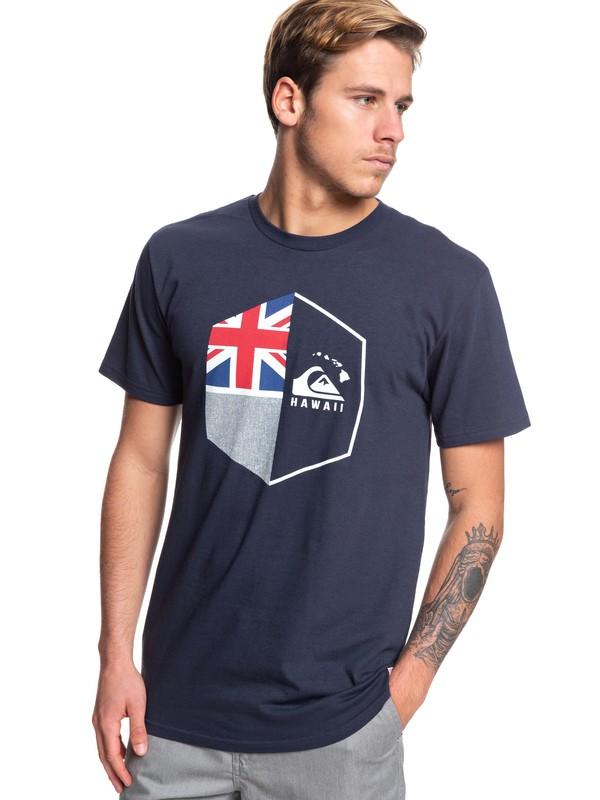 0 Camiseta- HI Shield Azul AQYZT06068 Quiksilver