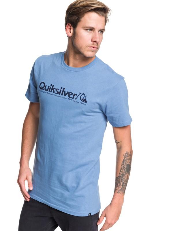 0 Modern Legends Tee Blue AQYZT06176 Quiksilver