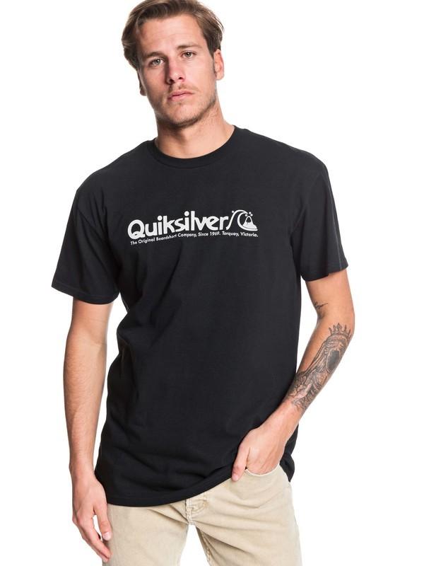 0 Modern Legends Tee Black AQYZT06176 Quiksilver