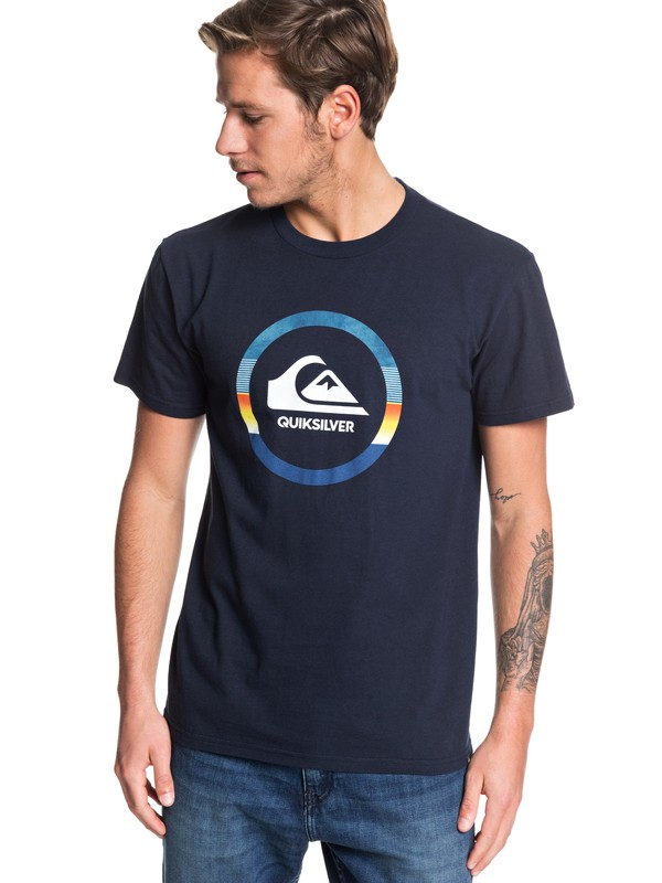 0 Snake Dreams - T-Shirt for Men Negro AQYZT06185 Quiksilver