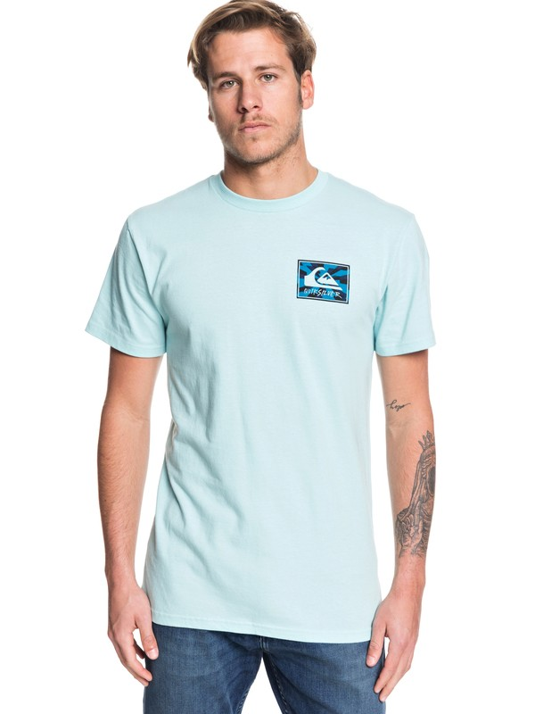 0 Enlightened Tunnel Tee Blue AQYZT06188 Quiksilver