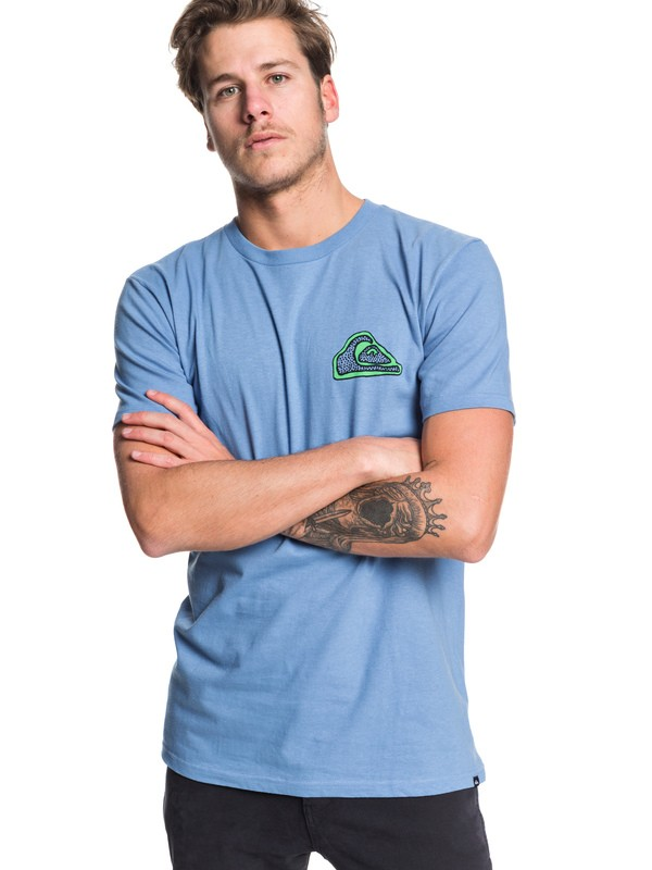 0 Cult Trip - T-Shirt for Men Azul AQYZT06197 Quiksilver