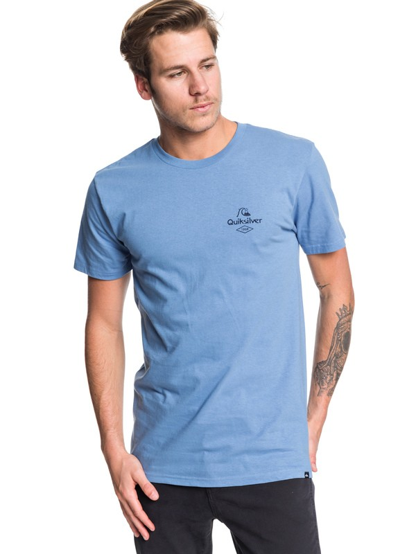 0 Diamond Tails Tee Blue AQYZT06198 Quiksilver