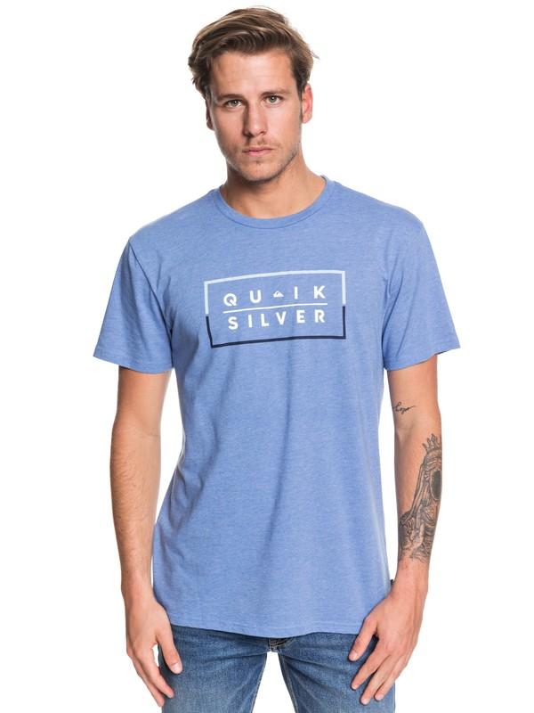0 Clued Up - T-Shirt for Men Azul AQYZT06203 Quiksilver