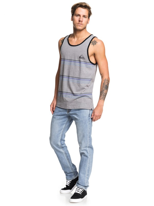 Benny Stripe - Vest for Men  AQYZT06214