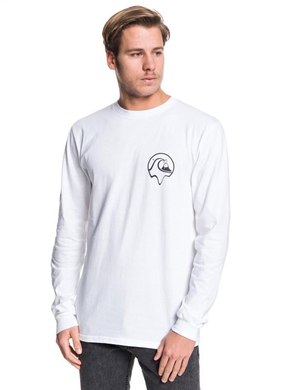 0 Dead Island Long Sleeve Tee White AQYZT06229 Quiksilver