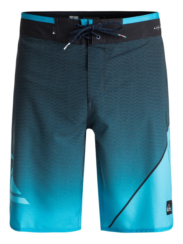 "0 Bermuda Boardshort Highline New Wave 20"" Quiksilver  BR60012549 Quiksilver"