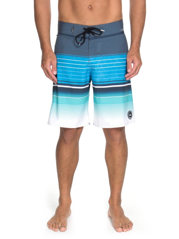 "0 Bermuda Boardshort Highline Swell Vision 21"" Quiksilver Azul BR60012600 Quiksilver"