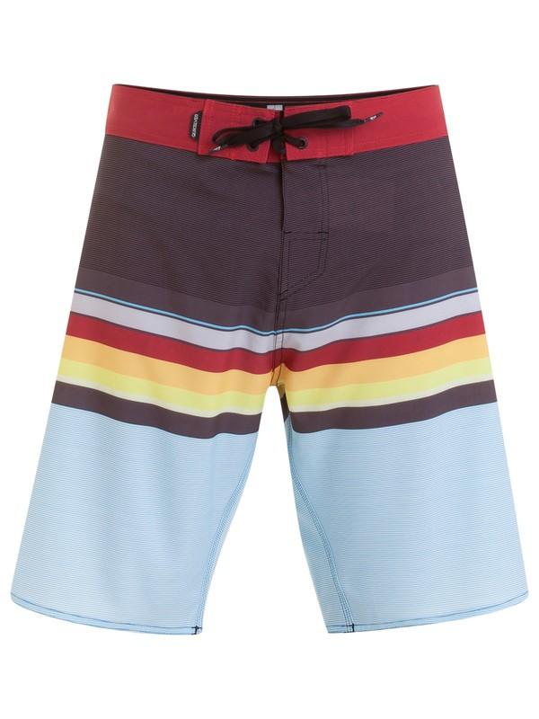 "0 Bermuda Boardshort Everyday Swell Vision 20"" Quiksilver Cinza BR60012647 Quiksilver"