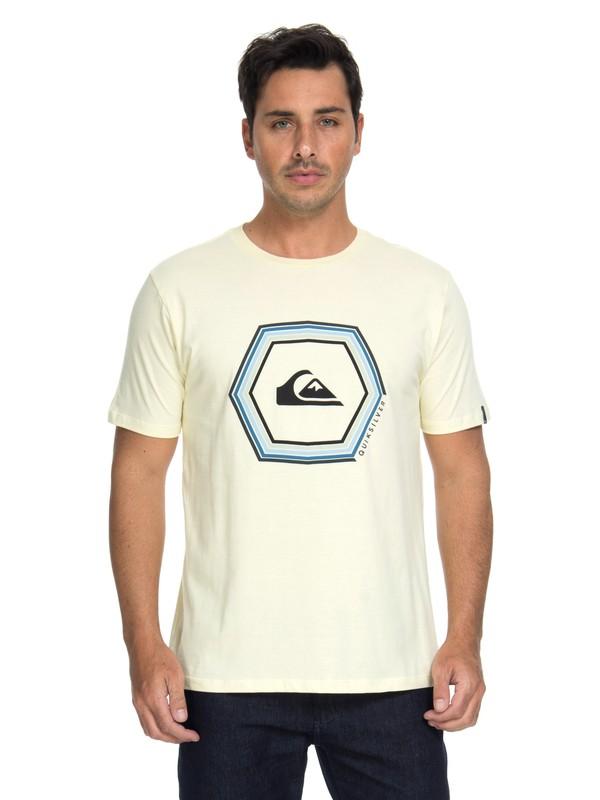 0 Camiseta Básica Sounds Quiksilver  BR61114644 Quiksilver