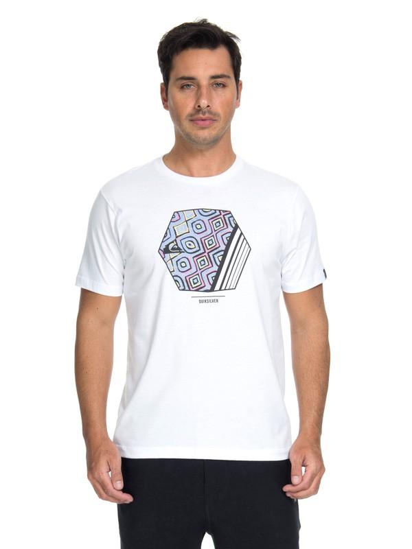 0 Camiseta Wild Vision Quiksilver Branco BR61114675 Quiksilver