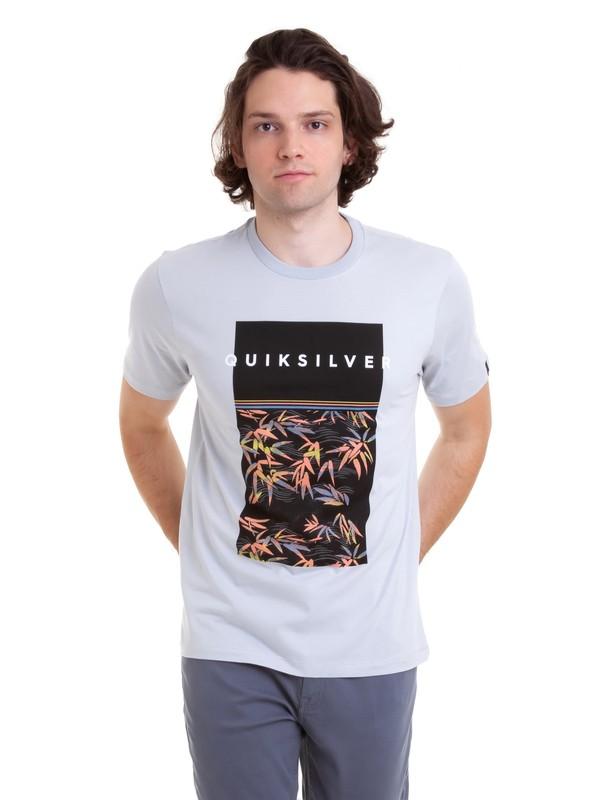 0 Camiseta Zen Division Quiksilver Cinza BR61114677 Quiksilver