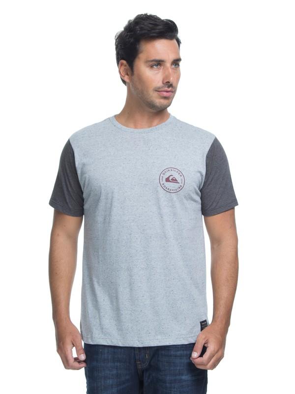 0 Camiseta Manga Curta Slim Fit Chose Quiksilver Verde BR61142858 Quiksilver