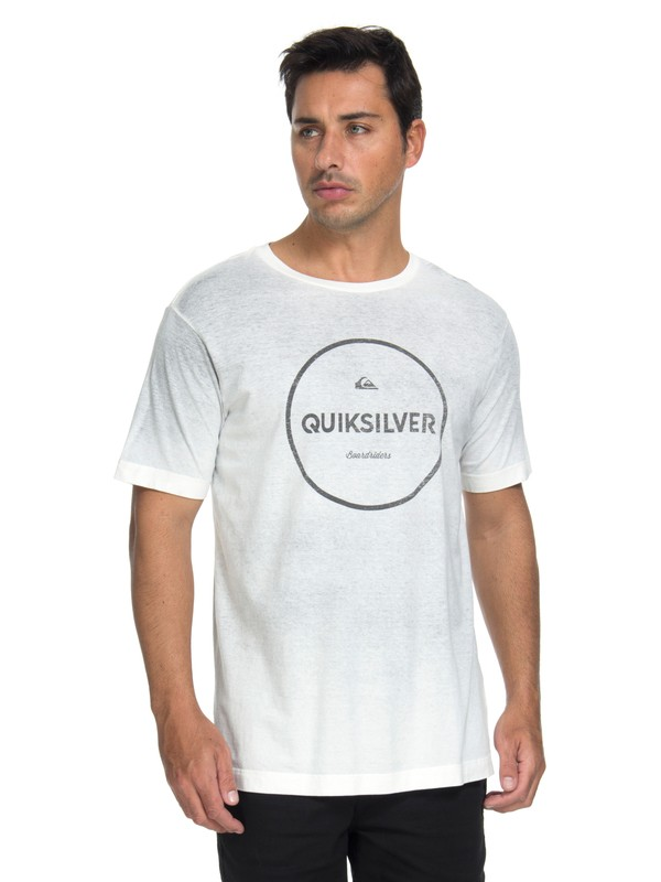0 Camiseta Degra Signatures Quiksilver Preto BR61142961 Quiksilver
