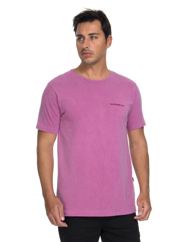 0 Camiseta Originals Mad Wax Acid Tee Quiksilver Pink BR61142983 Quiksilver