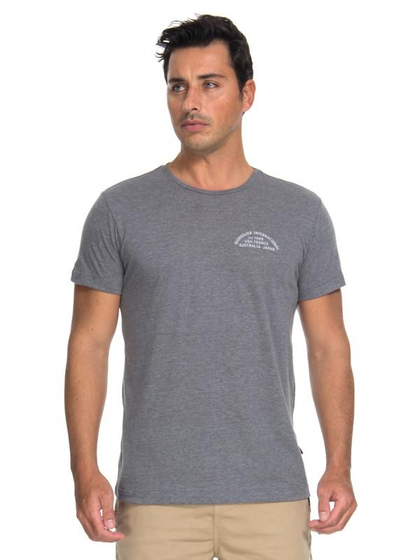0 Camiseta Quik Worldwide Quiksilver Cinza BR61142989 Quiksilver