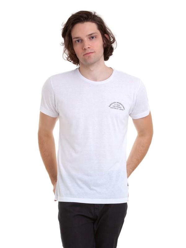 0 Camiseta Quik Worldwide Quiksilver Branco BR61142989 Quiksilver
