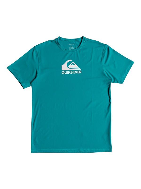 0 Camiseta Lycra Surf Tee Manga Curta UPF 50 Solid Streak Quiksilver  BR61151061 Quiksilver