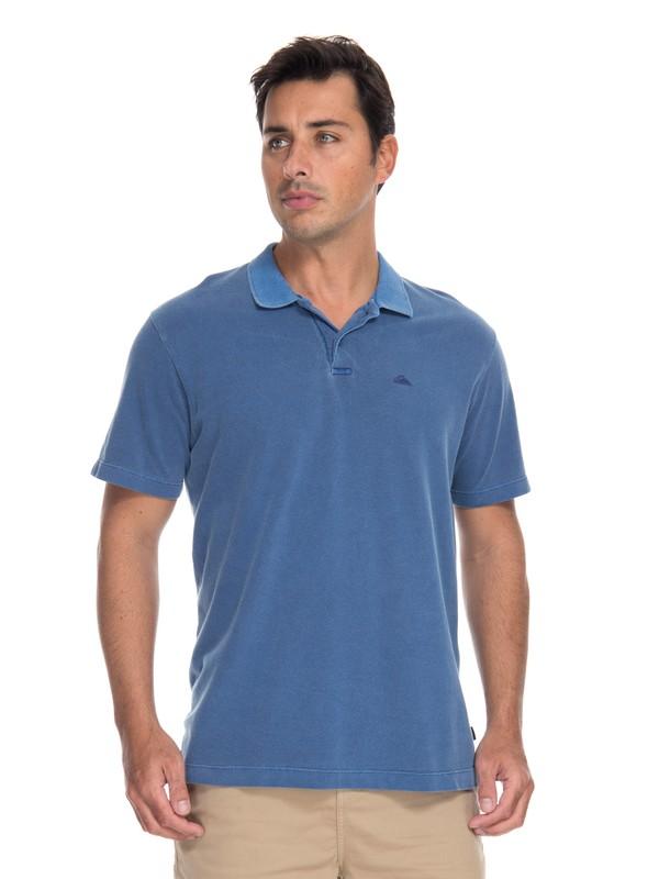 0 Camiseta Polo Piquet Dyed Quiksilver  BR61161551 Quiksilver
