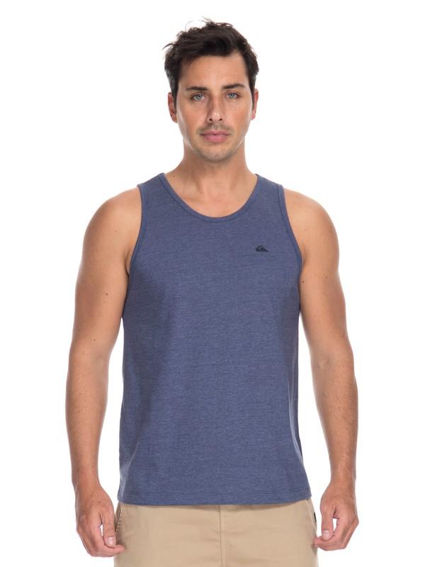 0 Camiseta Regata Básica Chest Quiksilver  BR61231981 Quiksilver