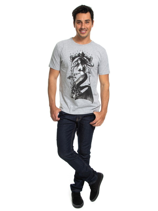 QK CAM SLIM FIT M/C SKULL MERMAID  BR61241597