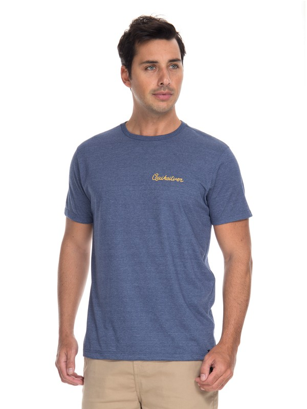 0 Camiseta Six Foot and Single Quiksilver  BR61241620 Quiksilver