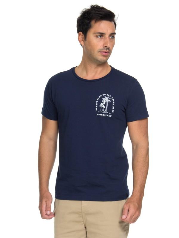 0 Camiseta Glad You´re Back Quiksilver  BR61241622 Quiksilver