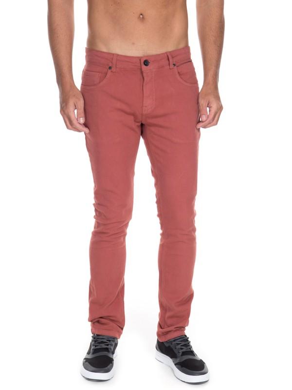 0 Calça Jeans Street Color Quiksilver  BR63331593 Quiksilver