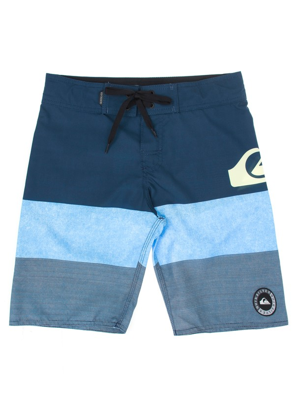 0 Bermuda Boardshort Juvenil Tijuana Quiksilver Azul BR67011415 Quiksilver