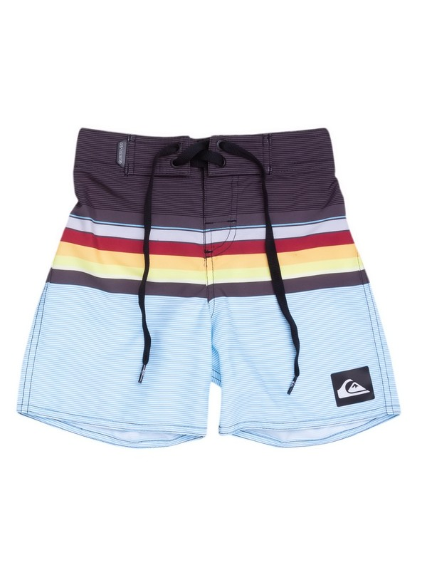 0 Bermuda Boardshort Infantil Everyday Swell Vision Quiksilver Cinza BR67011436 Quiksilver