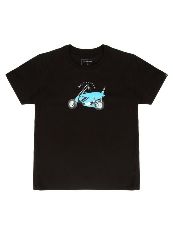 0 Camiseta Manga Curta Infantil Beach Park Quiksilver Preto BR68112094 Quiksilver