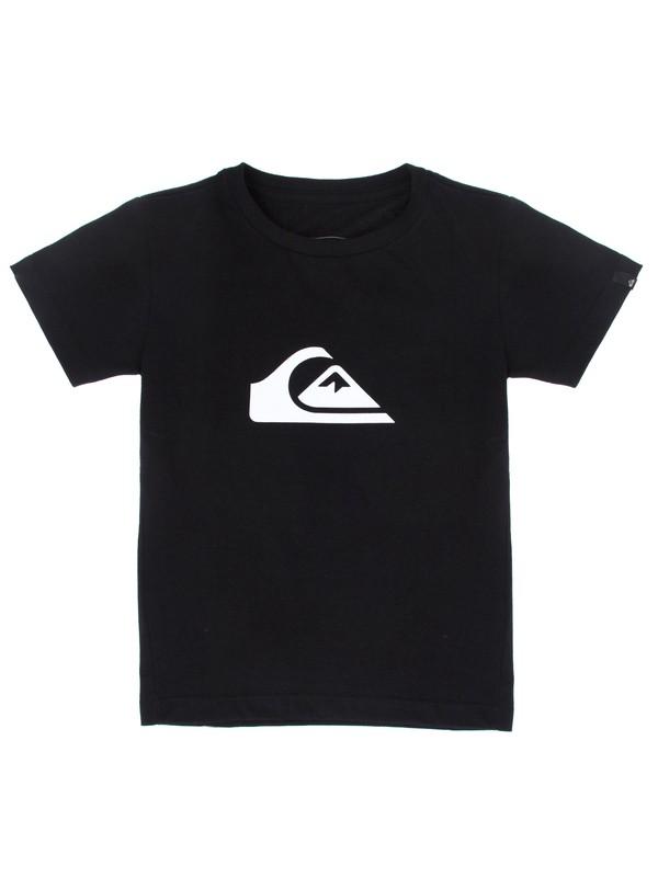 0 Camiseta Infantil Básica Quiksilver Preto BR68112139 Quiksilver
