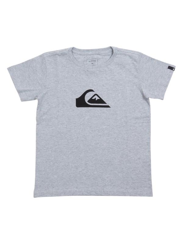 0 Camiseta Infantil Básica Quiksilver Cinza BR68112139 Quiksilver
