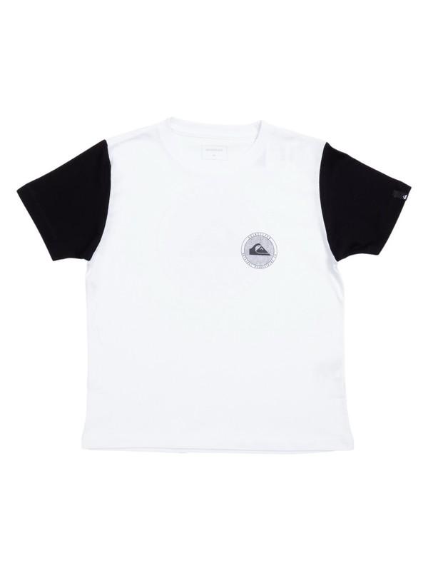 0 Camiseta Infantil Circle Dots Quiksilver Branco BR68112140 Quiksilver