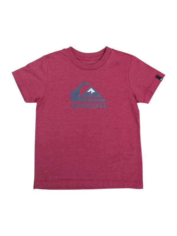 0 Camiseta Infantil Vice Versa Quiksilver Vermelho BR68112141 Quiksilver