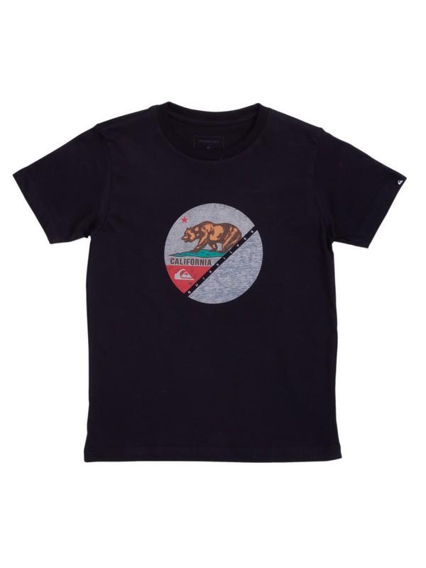 0 Camiseta Infantil Pack California Quiksilver Preto BR68112174 Quiksilver