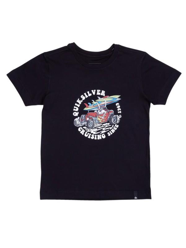 0 Camiseta Infantil Tottori Dune Quiksilver Preto BR68112177 Quiksilver
