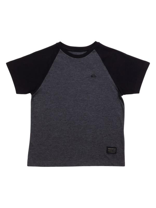 0 Camiseta Infantil Raglan Everyday Quiksilver Cinza BR68141330 Quiksilver