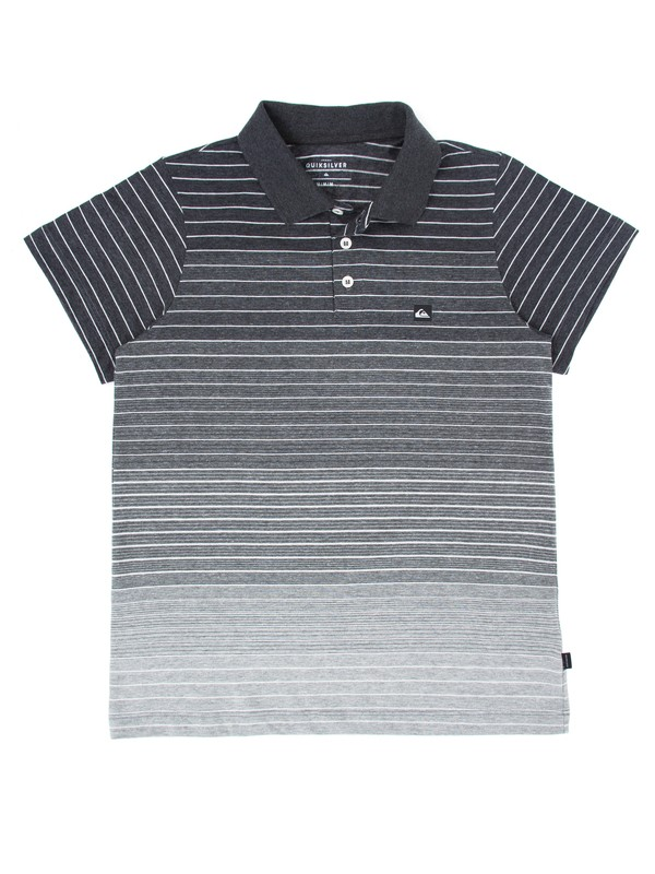 0 Camiseta Polo Juvenil Apac Quiksilver Cinza BR68161089 Quiksilver