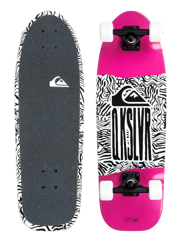 0 Acid Tide Skateboard Complete Pink EGLACIDTID Quiksilver