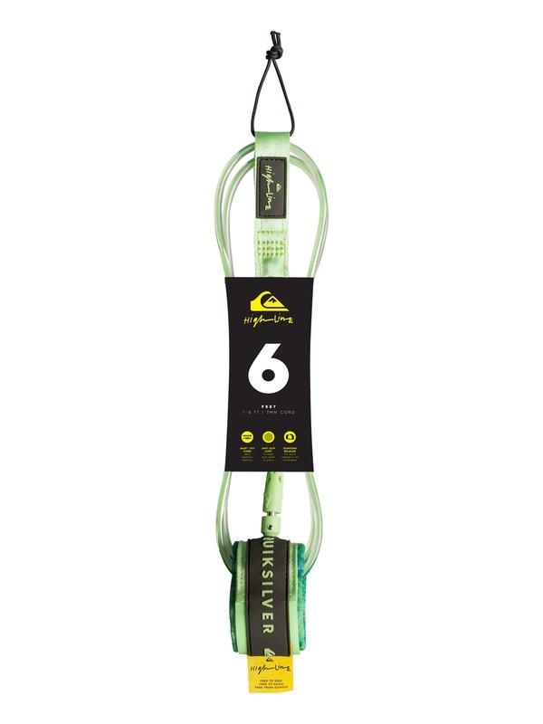 0 Highline  - Surfboard Leash Green EGLHHLINE6 Quiksilver