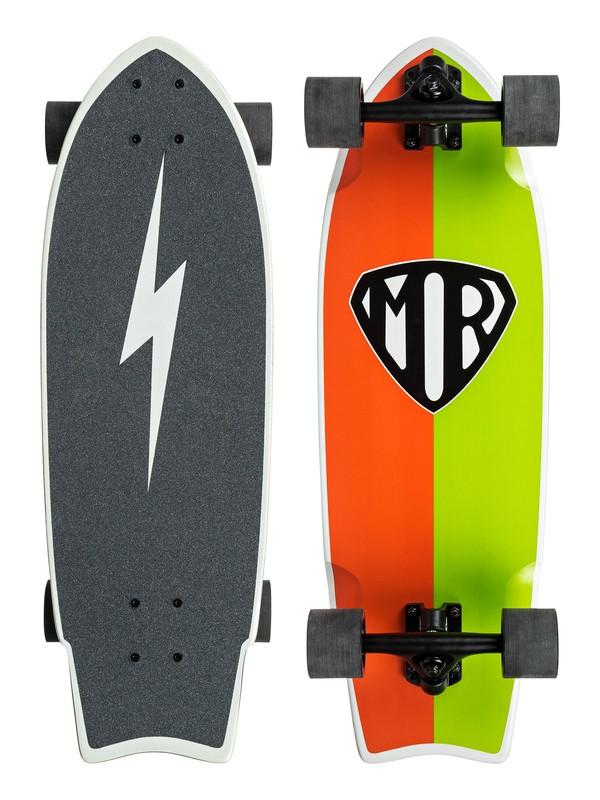 0 Mr Retro Skateboard Complete Green EGLMRRETRO Quiksilver
