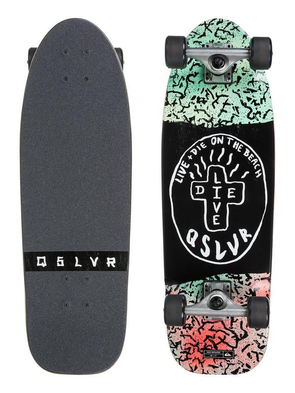 0 New Repeater Skateboard Black EGLNWREPUS Quiksilver